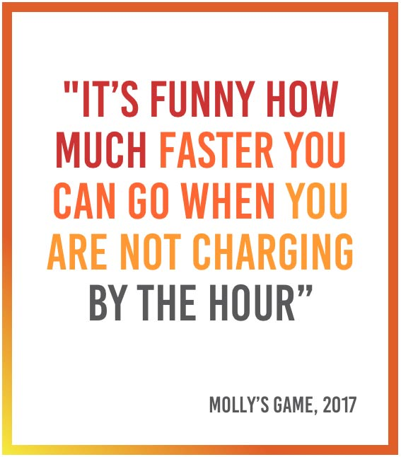 Molly's Game quote